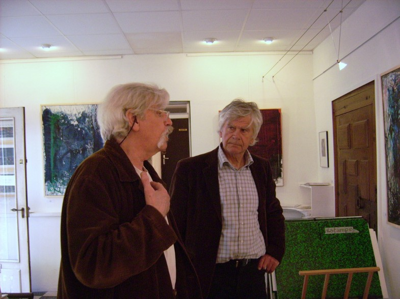 Jean-Amatheur LANOE avec Francis CAUDRON