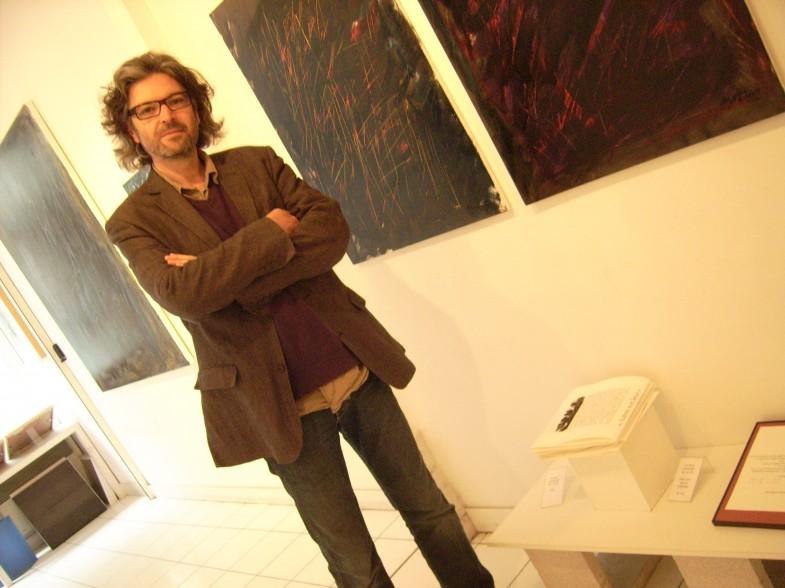 """David HAUGUEL, auteur des textes de l'ouvrage """"Autres Non Lieux"""""""