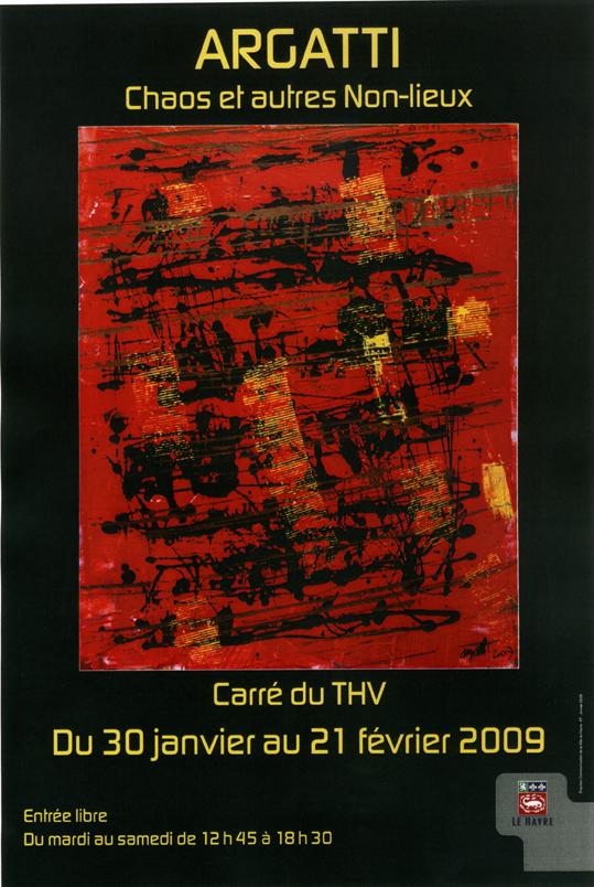Affiche exposition THV
